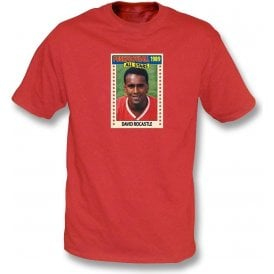 David Rocastle 1989 (Arsenal) Red T-Shirt