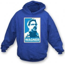 David Wagner - Hope Poster (Huddersfield Town) Hooded Sweatshirt