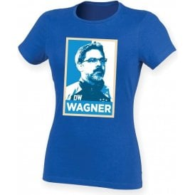 David Wagner - Hope Poster (Huddersfield Town) Womens Slim Fit T-Shirt
