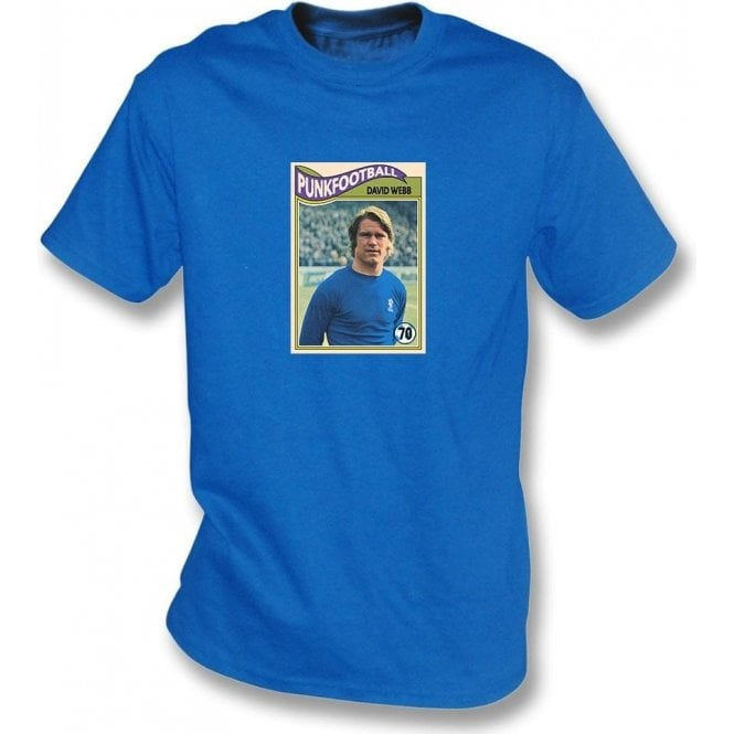 David Webb 1970 (Chelsea) Royal Blue T-Shirt