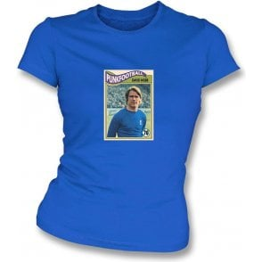 David Webb 1970 (Chelsea) Royal Blue Women's Slimfit T-Shirt