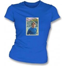 David Webb 1970 (Chelsea) Royal Blue Women's Slimfit T-Shirt