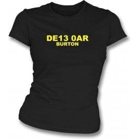 DE13 0AR Burton Women's Slimfit T-Shirt (Burton Albion)