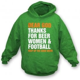 Dear God...hooded sweatshirt