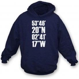 Deepdale Coordinates (Preston North End) Hooded Sweatshirt