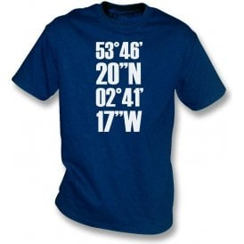 Deepdale Coordinates (Preston North End) T-Shirt
