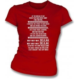 Delilah (Stoke City) Womens Slim Fit T-Shirt