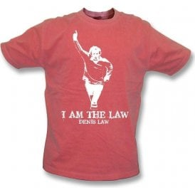 Denis Law - I Am The Law Vintage Wash T-Shirt (Man United)