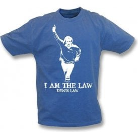 Denis Law - I Am The Law Vintage Wash T-Shirt (Scotland)