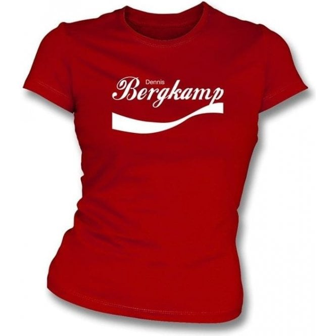 Dennis Bergkamp Enjoy-Style Women's Slim Fit T-shirt