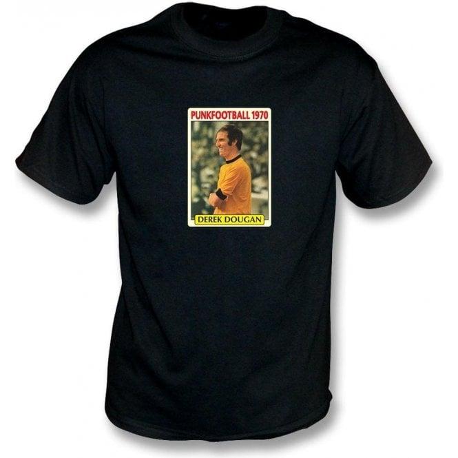 Derek Dougan 1970 (Wolves) Black T-Shirt