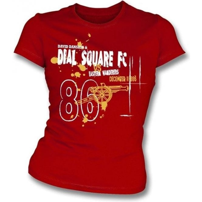 Dial Square FC (Arsenal) Girl's Slim-Fit T-shirt