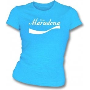 Diego Maradona (Argentina) Enjoy-Style Women's Slim Fit T-shirt