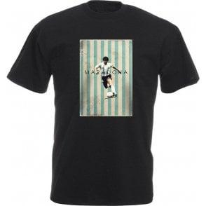 Diego Maradona Vintage Poster T-Shirt