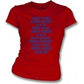 Digger-Dagger (Dagenham & Redbridge) Womens Slim Fit T-Shirt