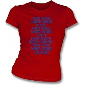 Digger-Dagger (Dagenham & Redbridge) Womens Slim Fit T-Shirt