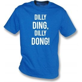 Dilly Ding, Dilly Dong (Leicester City) Kids T-Shirt
