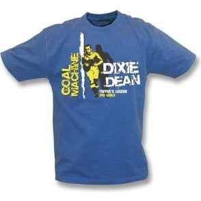 Dixie Dean Goal Machine vintage wash t-shirt