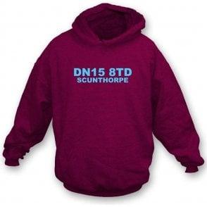 DN15 8TD Scunthorpe Hooded Sweatshirt (Scunthorpe United)