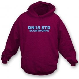 DN15 8TD Scunthorpe Hooded Sweatshirt (Scunthorpe United)