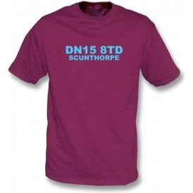 DN15 8TD Scunthorpe T-Shirt (Scunthorpe United)