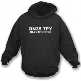 DN35 7PY Cleethorpes Hooded Sweatshirt (Grimsby Town)
