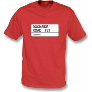 Dockside Road TS3 T-Shirt (Middlesbrough)