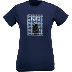 Don Revie (1972) Vintage Poster Womens Slim Fit T-Shirt