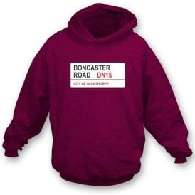 Doncaster Road DN15 Hooded Sweatshirt (Scunthorpe United)