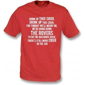 Drink Up Thee Cider (Bristol City) T-Shirt