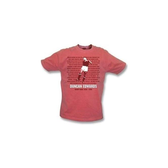 Duncan Edwards - Busby Babe Vintage Wash T-Shirt