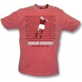 Duncan Edwards - Busby Babe Vintage Wash T-Shirt