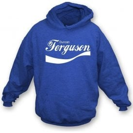 Duncan Ferguson Enjoy-Style Hooded Sweatshirt