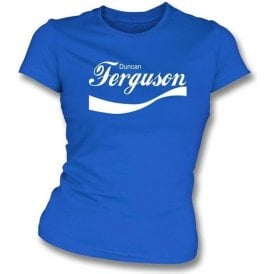 Duncan Ferguson Enjoy-Style Women's Slim Fit T-shirt