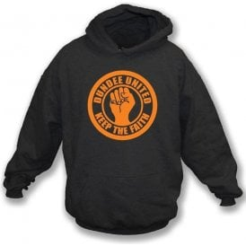 Dundee United Keep the Faith Hooded Sweatshirt
