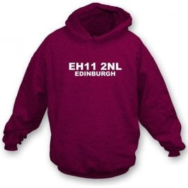E11 2NL Edinburgh Hooded Sweatshirt (Hearts)