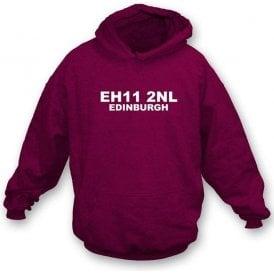 E11 2NL Edinburgh Hooded Sweatshirt (Hearts)
