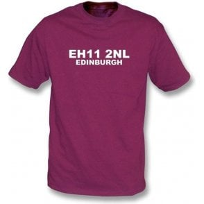 E11 2NL Edinburgh T-Shirt (Hearts)