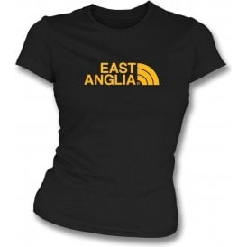 East Anglia (Cambridge United) Womens Slim Fit T-Shirt