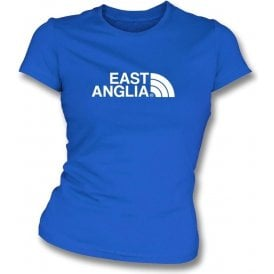 East Anglia (Ipswich Town) Womens Slim Fit T-Shirt