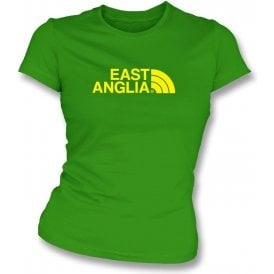 East Anglia (Norwich) Womens Slim Fit T-Shirt
