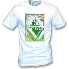 Easter Road EH7 5QG (Hibernian) T-Shirt