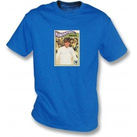 Eddie Gray 1970 (Leeds United) Royal Blue T-Shirt