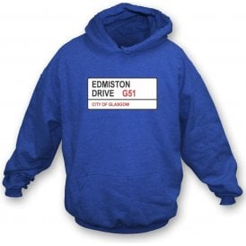 Edmiston Drive G51 Hooded Sweatshirt (Rangers)