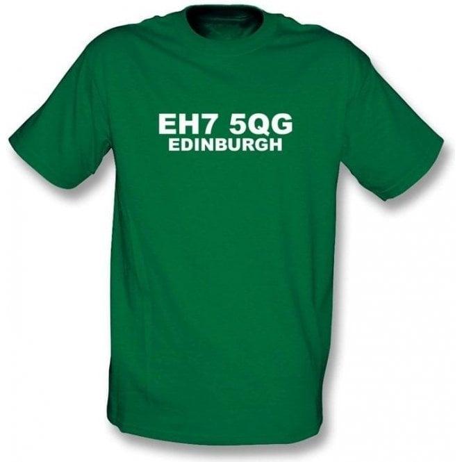 EH7 5QG Edinburgh T-Shirt (Hibs)