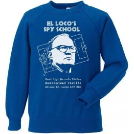 El Loco's Spy School (Leeds United) Kids Sweatshirt