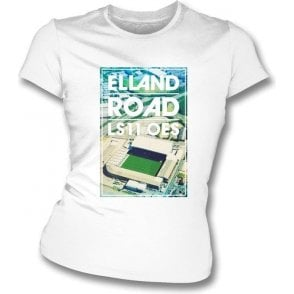 Elland Road LS11 OES (Leeds United) Women's Slim Fit T-shirt