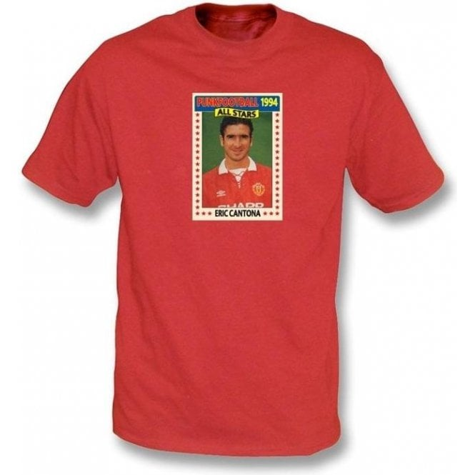 Eric Cantona 1994 (Man United) Red T-Shirt