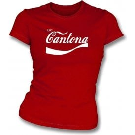 Eric Cantona Enjoy-Style Women's Slim Fit T-shirt