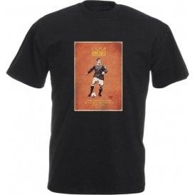 "Eric Cantona ""King Eric"" Vintage Poster T-Shirt"